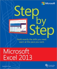 microsoft excel 2013 step by step by curtis d frye