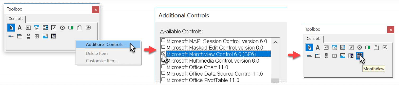 Create a Popup Calendar in Excel